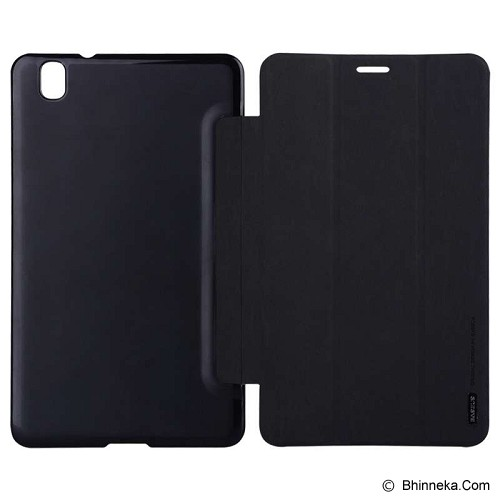 BASEUS Grace Leather Case Simplism series For Samsung Galaxy Tab Pro 8.4 [LTSATAB84-SM01] - Black - Casing Tablet / Case